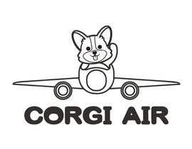 #330 для Need a Line Art Logo for Corgi Air от imtiazimti