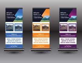 #88 for Create a Banner Stand Sign, for events by designroom24