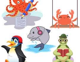 fkfiroj777 tarafından Create cartoon characters which I'll use as mascot icons on my website and promotional material için no 75