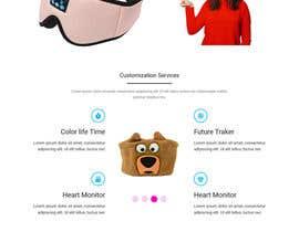nº 20 pour Build me professional website for my headphone company par freelancermahbu2