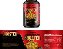 ssandaruwan84 tarafından Label Design for testosterone booster - NO Logo design ! için no 128