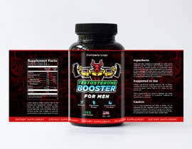 #117 cho Label Design for testosterone booster - NO Logo design ! bởi mmmoizbaig