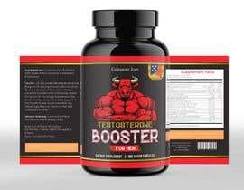 rabiulsheikh470 tarafından Label Design for testosterone booster - NO Logo design ! için no 111