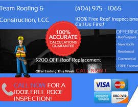 #4 for Design a Banner for Marietta Roofing Services af mai95