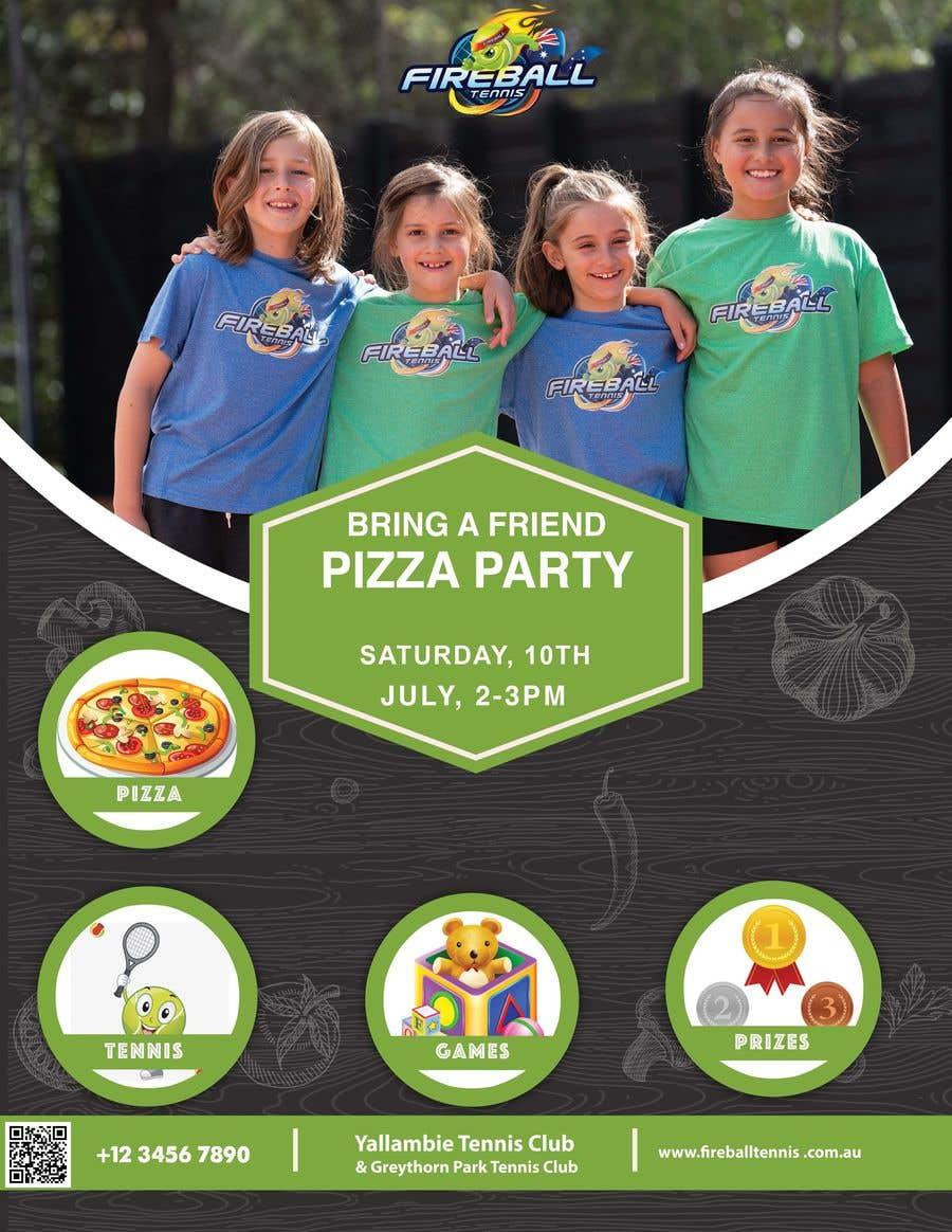 Penyertaan Peraduan #                                        8                                      untuk                                         Fireball Bring a Friend Pizza Party