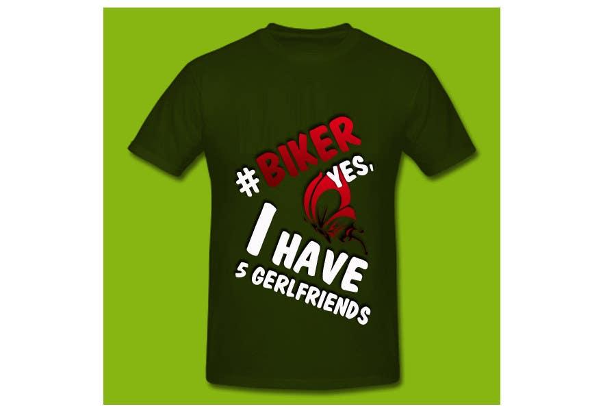 Penyertaan Peraduan #17 untuk Design a T-Shirt , hastag related