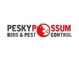 #37 for Design a Logo for Pesky Possum Pest Control af gorankasuba