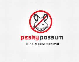 #77 for Design a Logo for Pesky Possum Pest Control by sunny9mittal
