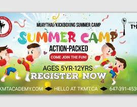 TheCloudDigital tarafından Summer Camp Banner Design için no 63