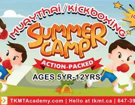 IamADY tarafından Summer Camp Banner Design için no 155