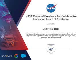 #106 для NASA Challenge: Design a CoECI Team Member Certificate от NigRosario
