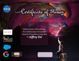 #52 для NASA Challenge: Design a CoECI Team Member Certificate от sadafperwaiz1
