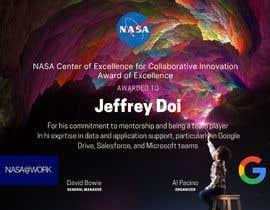 #38 для NASA Challenge: Design a CoECI Team Member Certificate от hanytamer00