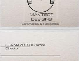 #97 cho Design some Business Cards and Logo for Mavtect Designs bởi rafaEL1s