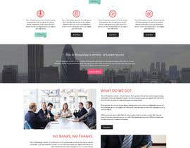 #17 cho Design a Website Mockup for a finance company bởi cromasolutions