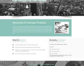 #7 cho Design a Website Mockup for a finance company bởi oceanganatra