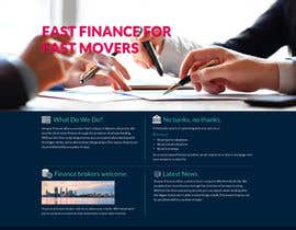 #4 cho Design a Website Mockup for a finance company bởi shine4je1981