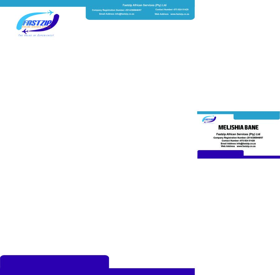 Konkurrenceindlæg #                                        22                                      for                                         Design Letterhead and Business Card for a travel business