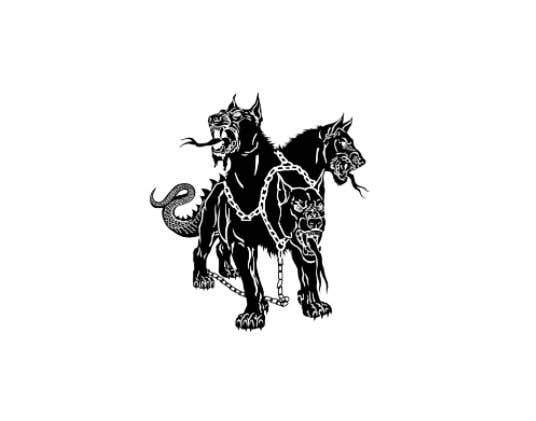 Kilpailutyö #                                        95                                      kilpailussa                                         cerberus puppy