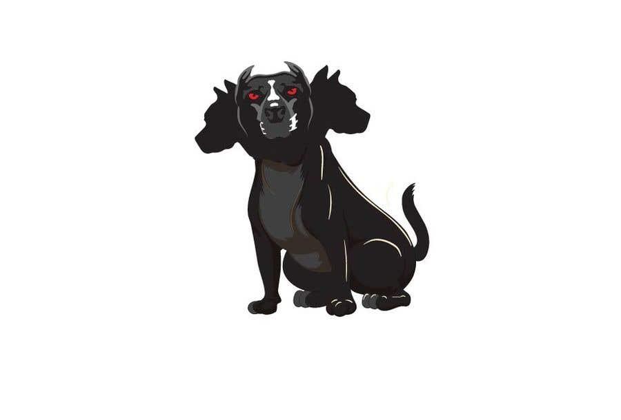 Kilpailutyö #                                        119                                      kilpailussa                                         cerberus puppy