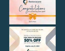 """#61 for 3"""" x 5"""" Double sided Promotional Card For Clinic Opening by thedesignstar"""