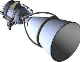 #7 for Illustration of an Future product - Rocket Engine Prototype Simulation for pitch deck af hmers502