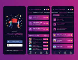 #139 for Reskin 3 Screens from App. Winner will be awarded a full project. af stylishwork