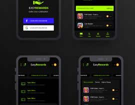 #45 for Reskin 3 Screens from App. Winner will be awarded a full project. af minhazmajumder