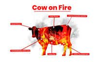 Graphic Design Contest Entry #17 for Make me a Cow Fire Graphic