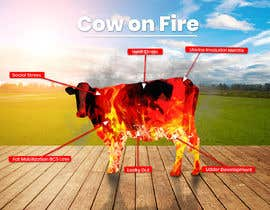 #19 for Make me a Cow Fire Graphic by joshuacastro183