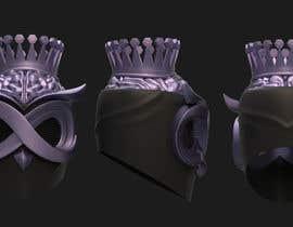 Nro 106 kilpailuun Create a 3D Helmet For A Rapper käyttäjältä chie77