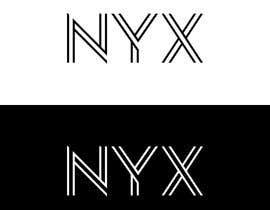Nro 1847 kilpailuun NYX logo design käyttäjältä infinitydisg