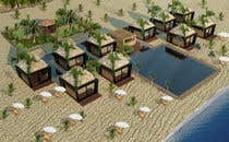 3D Rendering Contest Entry #12 for Beach Bungalows Design