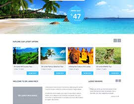 #24 for Design a Website Mockup for www.SriLankaMICE.com by lianalala