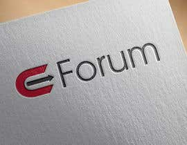 #130 untuk eForum logo oleh hubbak