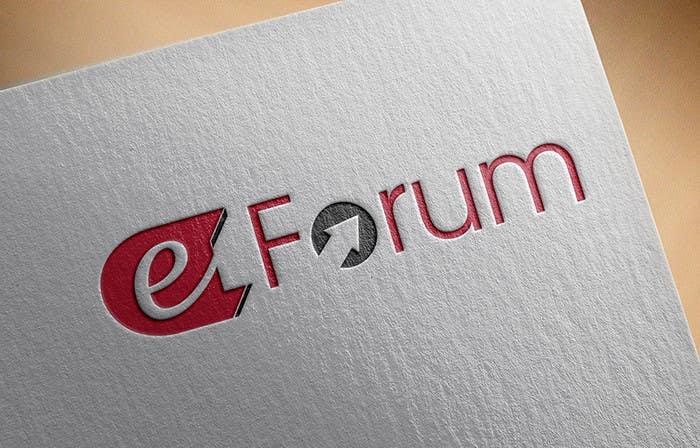 Penyertaan Peraduan #135 untuk eForum logo