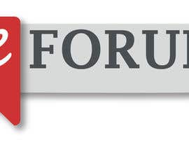 #168 for eForum logo by christianimontes