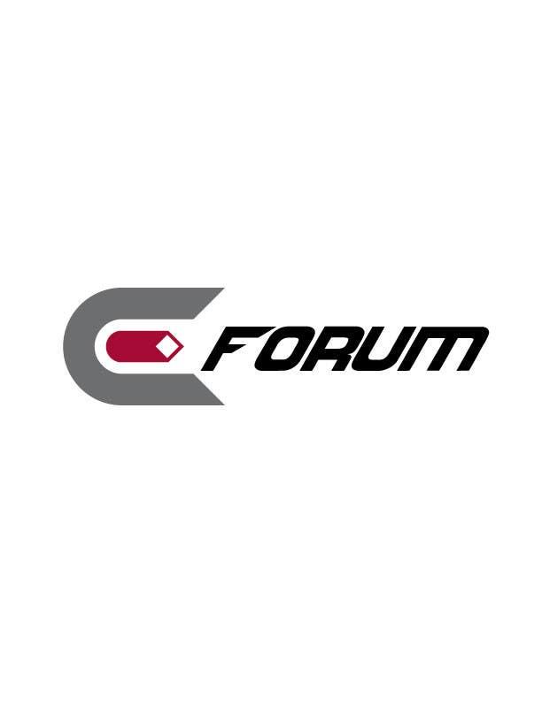 Penyertaan Peraduan #42 untuk eForum logo