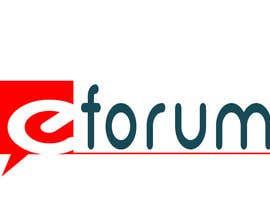 #147 para eForum logo por aviral90