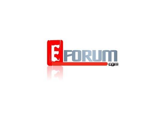 Penyertaan Peraduan #78 untuk eForum logo