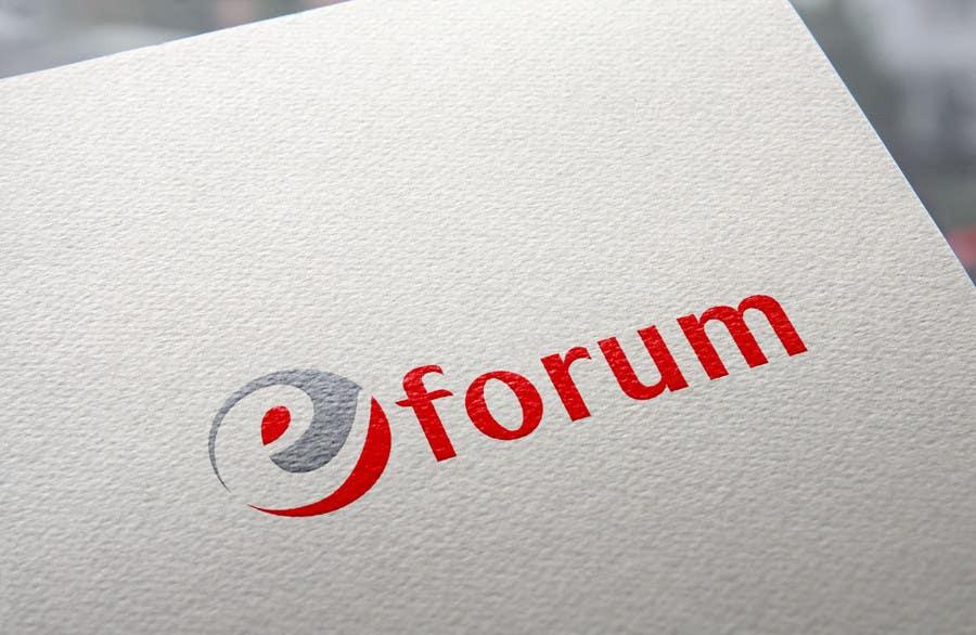 Penyertaan Peraduan #146 untuk eForum logo