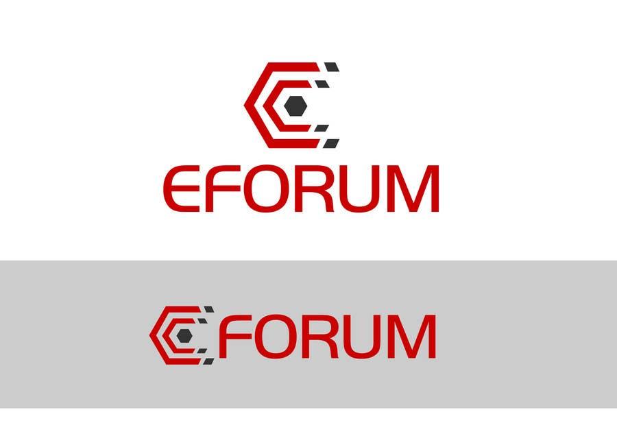Penyertaan Peraduan #163 untuk eForum logo