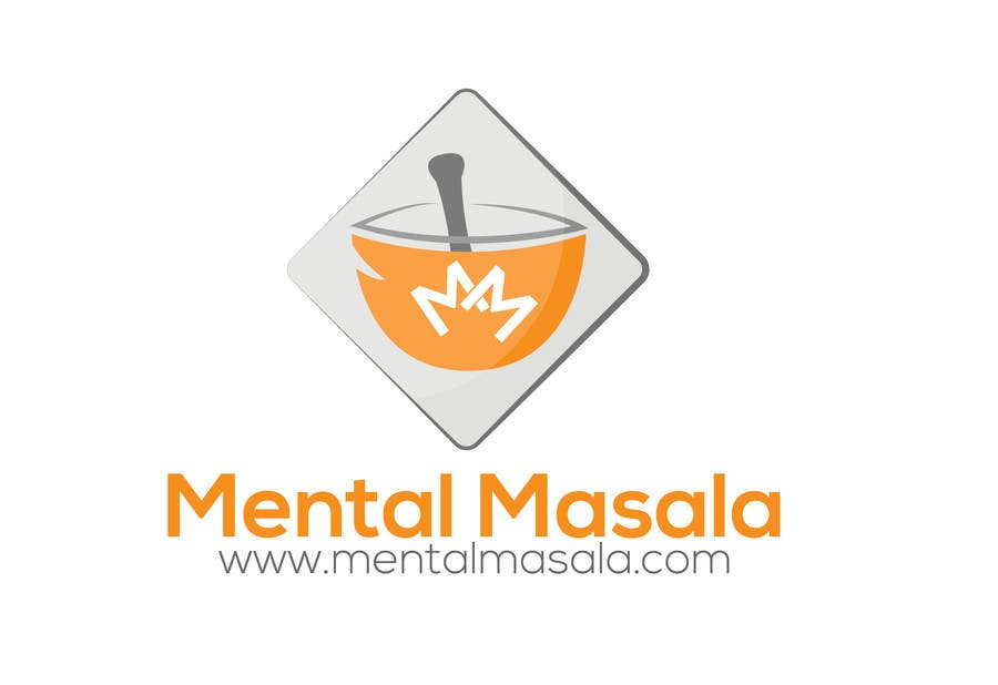 Konkurrenceindlæg #                                        2                                      for                                         Design a Logo for Mental Masala (www.mentalmasala.com)