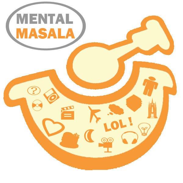 Konkurrenceindlæg #                                        35                                      for                                         Design a Logo for Mental Masala (www.mentalmasala.com)