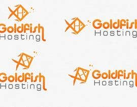 #45 para Design a Logo for Goldfish Hosting por sunnnyy