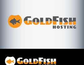 #64 para Design a Logo for Goldfish Hosting por AnaKostovic27