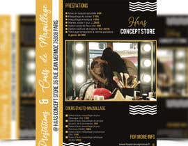 #103 for Flyer for make up lessons by janicimondol18