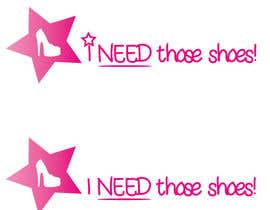 nº 17 pour Design a Logo for I NEED those shoes par thewolfmenrock