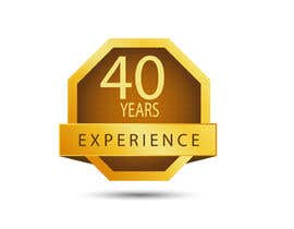 "#29 for Design a Logo for ""40 Years Experience"" by DesignStorm15"