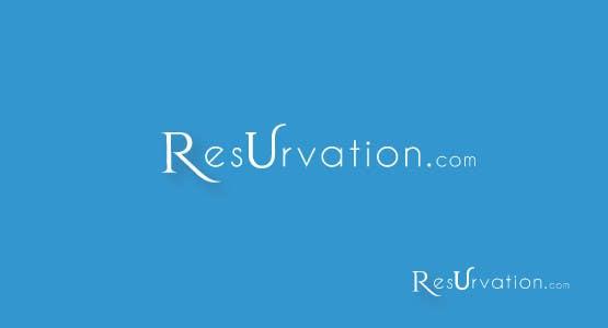 Contest Entry #                                        32                                      for                                         Design a Logo for resUrvation.com